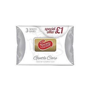 SOAP IMPERIAL LEATHER SOAP NEW 3 PACK GENTLE CARE 100G - 100G X 3
