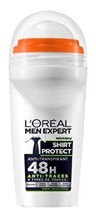 L'Oreal Men Expert Shirt Control Roll-On, 24H Schutz für Hemden vor gelben Flecken, 50 ml -