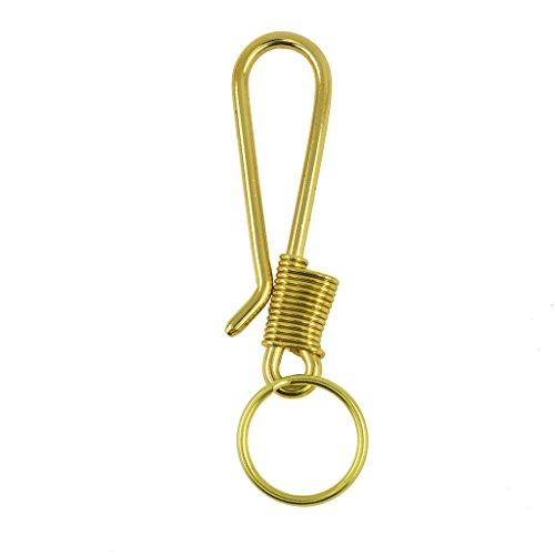 Sharplace Schlüsselring Haken für Geldbörse Schlüsselring Haken Verschluss Schlüsselanhänger Taschenzubehör (Geldbörse Haken)