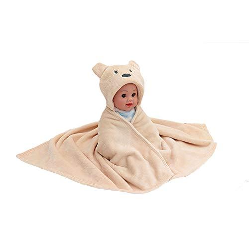 Glrero Baby Schlafsack,Baby Coral Quilt Newborn Blanket Bequeme Atmungsaktive Herbst- Und Winterschlafsack Mütter- Und Kinderversorgung 92X76cm Yellow-OneSize (Coral Kinderzimmer-quilt)