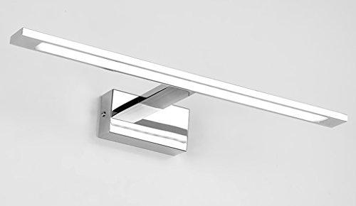 LED-Spiegel-Vorne-Lampen-Badezimmer-Spiegel-Kabinett-Spiegel-Badezimmer-Badezimmer-Abziehvorrichtung-Toilette-WC-Spiegel-Lampen ( farbe : Is White-14w58cm )