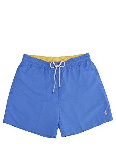 Ralph Lauren Herren Shorts Traveler-Swim, Blau (Colby Blue Colby Blue), Large