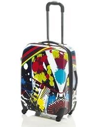 Trolley-Koffer - Polycarbonat - XXL-Light - 61cm, 3,4kg, 57Liter von Maletas - Design: Paint (863011-04)