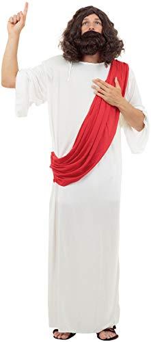 Mens Jesus Joseph Religious Bible Biblical Story Christmas Xmas Nativity Play Fancy Dress Costume Outfit