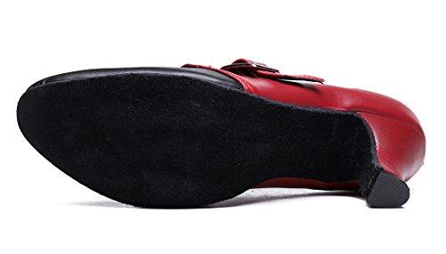 TDA - Ballroom donna Black Red