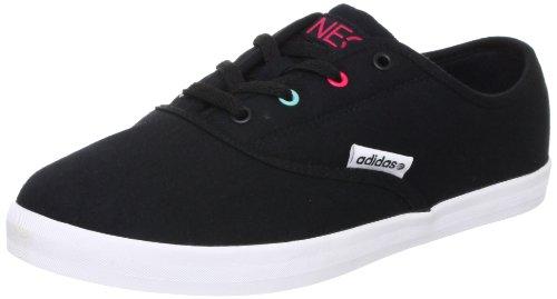 Adidas - Vlneo Court - Q26084 - Couleur: Blanc-Noir - Pointure: 40.0