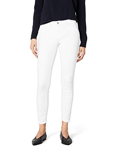 ONLY Damen onlKENDELL REG SK ANK JEA CRE NOOS Jeanshose, Weiß (White), W27/L32 (Herstellergröße: 27)
