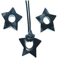 Schneeflockenobsidian 1 Kleiner Stern mit Runden Bohrung 0.8 cm Größe ca. 2.5 cm Sein Gewicht 2 g preisvergleich bei billige-tabletten.eu
