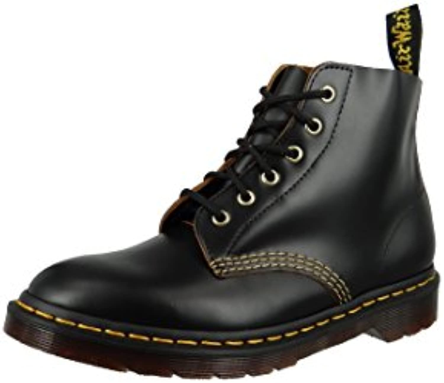 Dr.Martens Womens 101 Arc 6 Eyelet Leather BootsDr Martens Vintage Smooth 22701001