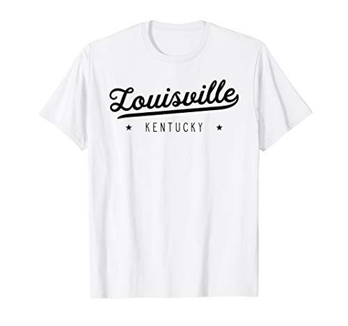 Classic Retro Vintage Louisville Kentucky USA Gift T-Shirt -