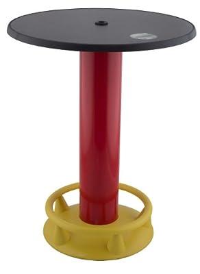 Stehtisch Deutschland Quick Table WM Fan Stehbiertisch schwarz rot gold