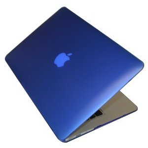 Macbook Pro Retina 15 Inch Matte Finish Hard Shell Cover Case Blue