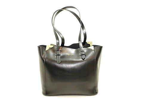 Tosca Blu , Sac pour femme à porter à l'épaule Noir Noir 30x14x30cm