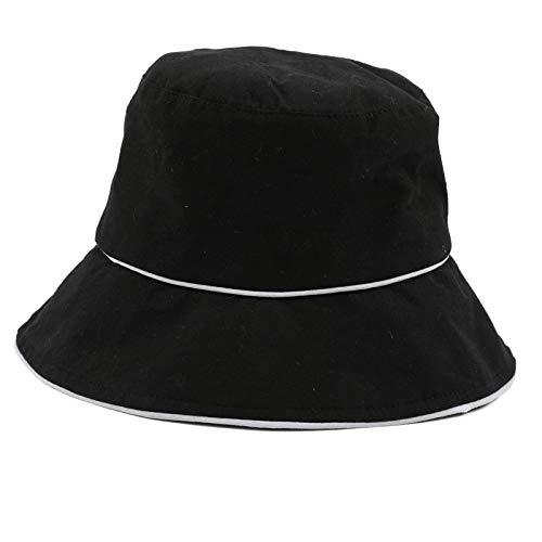 Blisfille Outdoor Sonnenhut Schwarz Unisex Bucket Hat Sommer Sonnenhut Uv Schutz Fischerhu