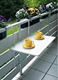 Special-trends Balcon table pliante table pliante pour balcon