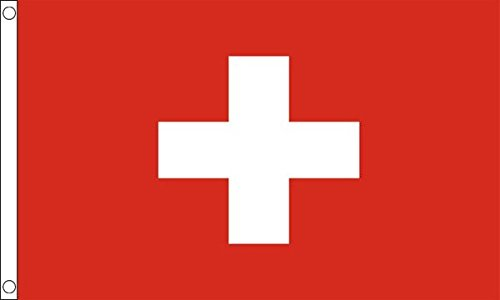 Flag Wholesaler Switzerland Flagge, Mehrfarbig, Large