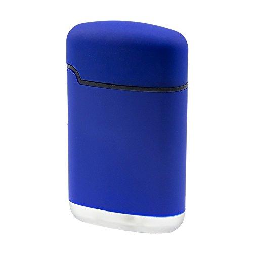 Easy Torch 8 Rubber Sturmfeuerzeug in 5 Farben sortiert, Farbe Easy Torch Matt:Dunkelblau Matt