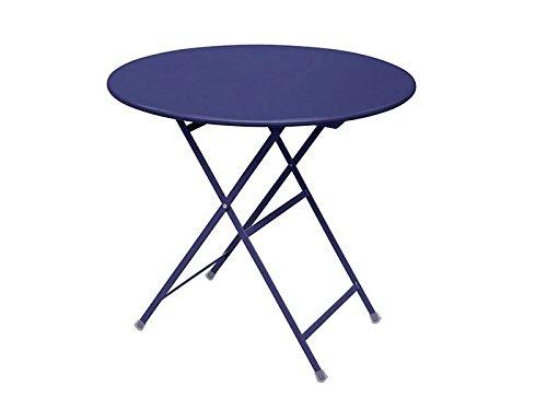 Arc en ciel Emu Table pliante ronde cm. 80 art. 346 Couleur bleu foncé Code 48