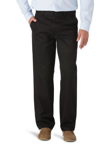dockers-mens-d2-all-the-time-standard-fit-khaki-straight-trousers-black-w29-32