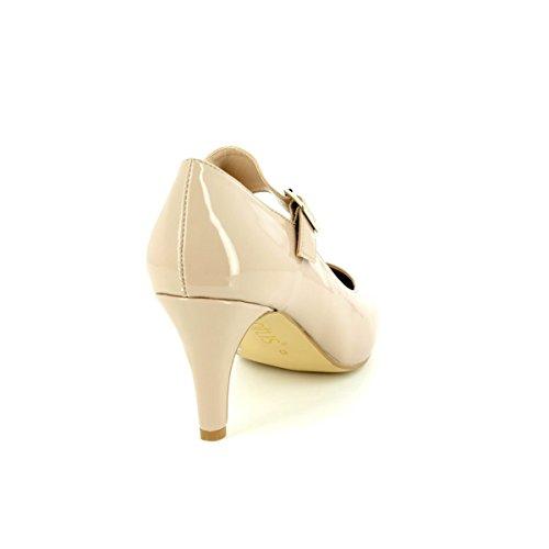 Lotus - Laurana, Scarpe col tacco Donna Nude Shiny