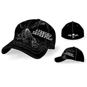 Avenged Sevenfold - - Casquette de baseball Breakout In Black, O/S, Black