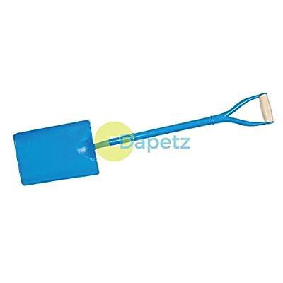 Dapetz Gefälscht Konus Schneeschaufel 1040mm Gartenarbeit Werkzeug Klinge L X B: 315 X 290mm