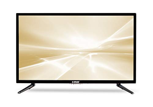 e:max Fernseher 32 Zoll 80 cm TV E320HX (Full Matrix LED® Light, HD-Ready 1080p, Triple Tuner, CI+, HDMI, USB, Q.Box Sound System)