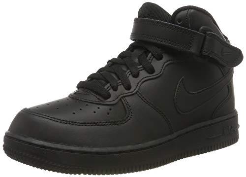 Nike Jungen Force 1 MID (PS) Basketballschuhe, Schwarz Black 004, 35 EU