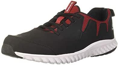 Hans Runner Black/Magma Running Shoes