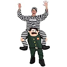 Creaciones Llopis Disfraz Adulto Guardia Civil con preso 4830 1b55450b239a