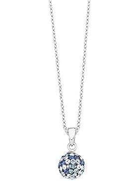 s.Oliver Kinder und Jugendliche Halskette Swarovski Elements 925er Silber