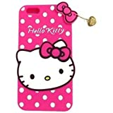 Vinjhraat Cute Hello Kitty Soft Silicone Back Case Cover For Samsung Galaxy J1 4G - Pink