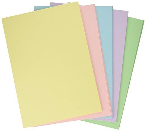 & Favini A69X524 Rismacquaa4 Cartoncino, 200 g/Mq, 50 fogli A4 210 X 297, 5 Colori Assortiti Tenui recensioni dei consumatori