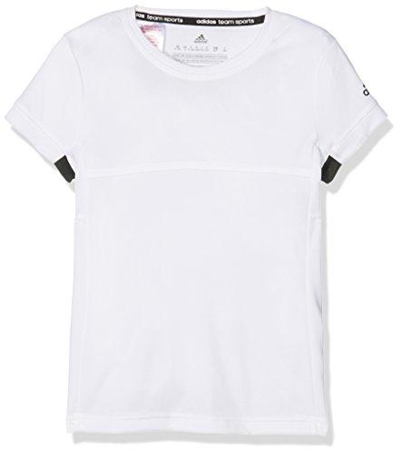 adidas Oberbekleidung T16 Cimacool Tee Y, Weiß, 116, AJ8791