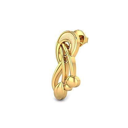 Candere By Kalyan Jewellers 22k (916) Yellow Gold Danusiya Stud Earrings