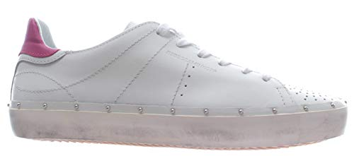 Rebecca Minkoff Chaussure Femme Sneakers 00MI NA01 Michell Nappa White Low New