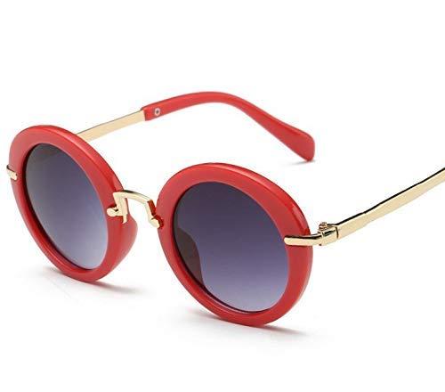 GCCI Sommer Mode Sonnenbrillen Mode runde Nette Kindersonnenbrille Anti-Uv Baby Brille Mädchen Kinder 'S Brille Stil Persönlichkeit