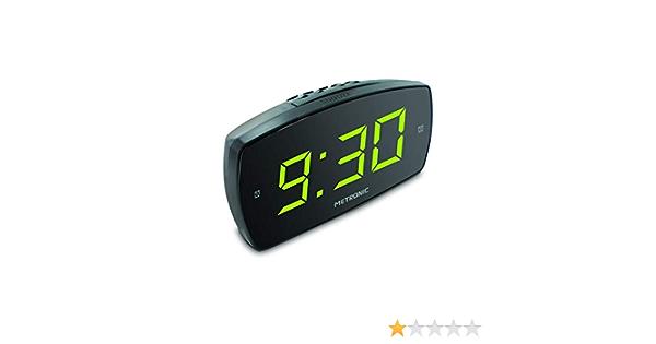 Réveil XL2 double alarme avec grand affichage LED