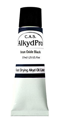 ALKYDPRO Ölfarbe, schnelltrocknend, 37 ml 37 ml Iron Oxide Black -
