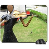 violin-player-statue-mouse-pad-mousepad-grass-mouse-pad