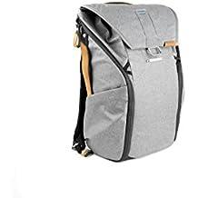 """Peak Design Everyday Backpack Sac à dos Gris - étuis et housses d'appareils photo (Sac à dos, Universel, Gris, Toile, Synthétique, 38,1 cm (15""""), 460 mm)"""