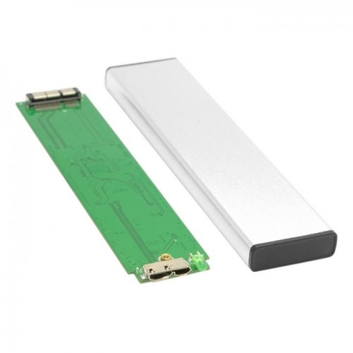 Chenyang USB 3.0 to 12+6pin SSD HDD Hard Disk Cartridge Drive for 2010 2011 MacBook Air A1369 A1370 (Mac 2011 Air Ssd)