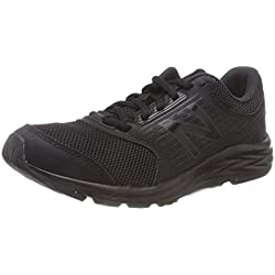New Balance 411, Scarpe Running Donna, Nero Black, 38 EU