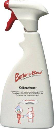 Kalkentferner - für den Badbereich (Duschwände, Fliesen, Glas, usw.) - 500 ml Sprühflasche