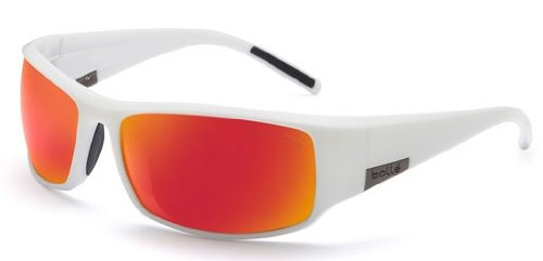 Bollé King 11616 Sunglasses Shiny Whitepolarized TNS Fire 11437