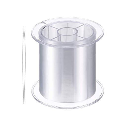 Hilo de nailon transparente de 0