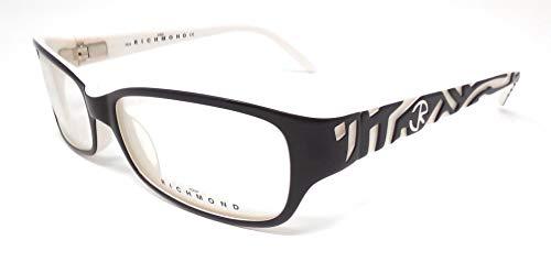 John Richmond Damen Brillengestell Schwarz/Weiß