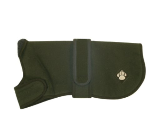 Artikelbild: Danish Design Hundemantel aus gewachstem Fleece, Grün