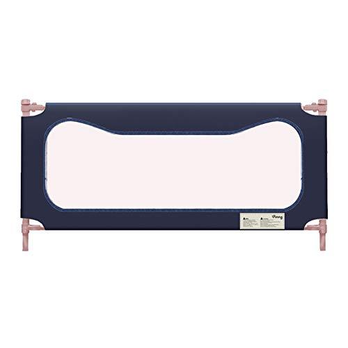 Bettgitter für Kinder, Sicherheit Baby Bedrail Extra Lang Für Kinder Baby Bettschutzgitter Für Doppelbett 80 cm hoch (größe : 200CM)