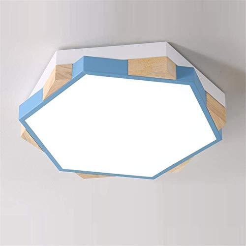 Thumby Deckenleuchte Deckenleuchten Blau Kinder Kinder Schlafzimmer Lampe Einfache Kreative Seltsame Jungen und Mädchen Zimmer Lampe Persönlichkeit Geometrische Polygon Kleine Wohnung -